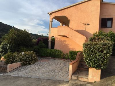 Photo for Holiday Apartment with Air Conditioning, Balcony and Sea View; Parking Available; Pets Allowed
