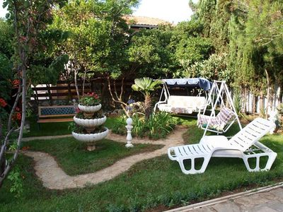 Photo for One bedroom apartment with terrace Nin (Zadar)
