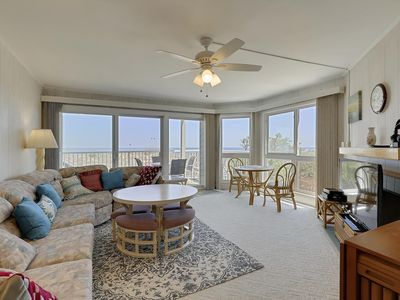 Photo for Coffee & Sunrises - Beautiful Oceanfront Condo - Wi-Fi & Direct Beach Access!
