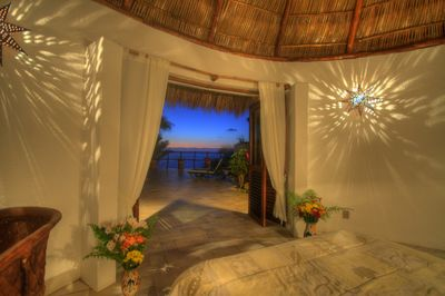 View from bedroom in separate casita