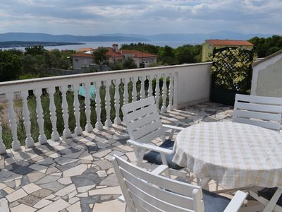 Photo for Beautiful apartment Berny 2 with sea view and quiet area