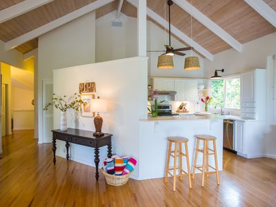 Photo for North Shore Kauai spacious home with lots of light & breezy windows, super clean
