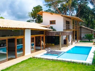 Photo for Wonderful house with 5 suites and private pool with 3 levels of depth.