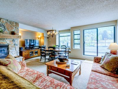 Photo for Mountainside. Steps from both Whistler & Blackcomb Main Gondolas. Sleep up to 10