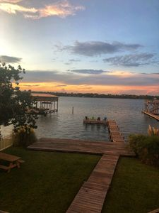 Photo for Little Lagoon front home, steps to the Beach/Gulf, private pier3BR/3BA  Sleeps 8