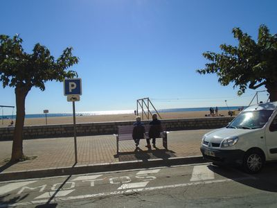 Photo for NEXT to the Beach (say 160 paces) next to the Marina (say 200 paces)