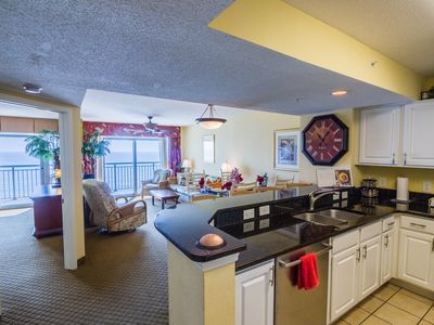 Photo for LuxuryOceanfront w/BreathtakingViews!Steps 2 Beach.Pool.Hottub.FreeOnSiteParking