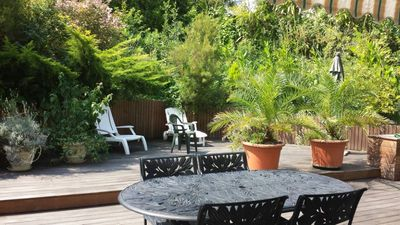 Photo for apartment in a Villa of Chiberta- 3 rooms with terrasse and garden- 4 people