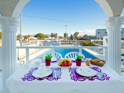 Photo for Vacation home Requesens canal in Empuriabrava - 8 persons, 4 bedrooms