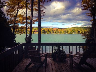 Photo for This Walloon Lake home is near the South Arm