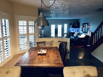 Photo for #1 RATED-1Block to Beach-Townhouse 3/2.5-Fishtank!