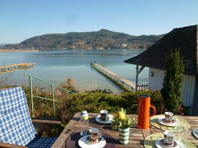 Photo for Lakeside house with direct access to the Wörthersee in Krumpendorf, Austria