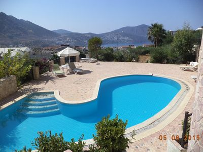 Photo for 2 Bedroom Apartment With 2 Shared Pools And Sea View in Town.