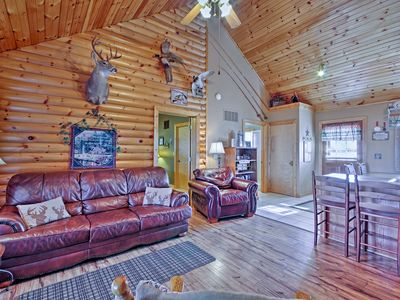 Photo for Branson Cabin w/Pool Access by Silver Dollar City!