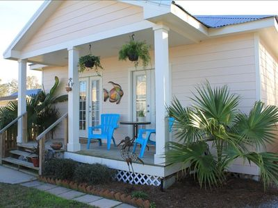 Photo for Quaint Cottage, Walk to Beach and Old Town Bay St. Louis