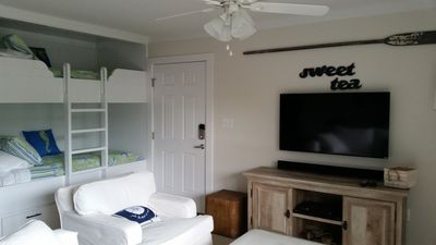 Photo for Come sit a spell at our newly renovated 1 BR condo right on 30A. Close to Beach.