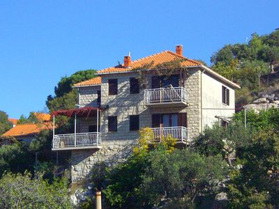 Photo for Apartment in Postira (Brač), capacity 4+1