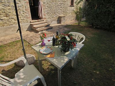 Photo for Comfy Farmhouse with Swimming Pool, Terrace, Garden, BBQ