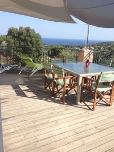 Photo for FAMILY VILLA SEA VIEW AND HILLS, QUIET