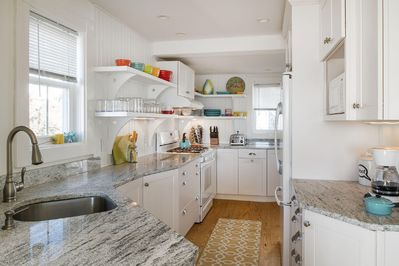 Updated and charming kitchen