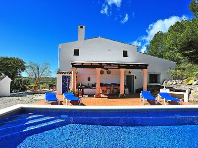 Photo for Vacation home Casa Fonsala  in Moraira, Costa Blanca - 6 persons, 3 bedrooms