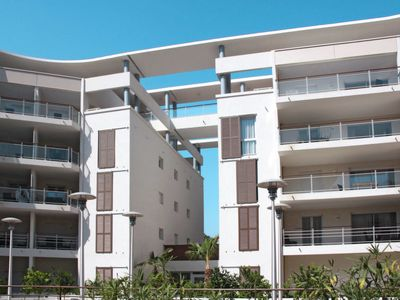 Photo for Apartment Résidence Le Crystal (CSR110) in Cagnes-sur-Mer - 2 persons, 1 bedrooms
