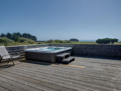 Dog Friendly W Ocean Views Private Hot Tub Shared Pool Walk To