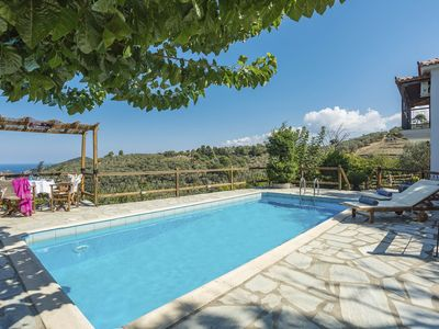 Photo for Villa Ageri - Villa With WIFI, A/C, BBQ, Pool Table & Private Pool.