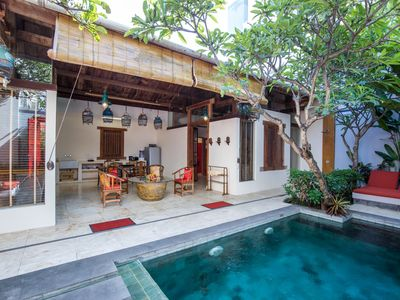 Photo for Unique Luxury Villa with Private Pool in the Heart of Seminyak