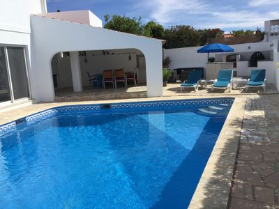 Photo for Private 3-bedroomed villa with a heated pool, close to town, tranquil location