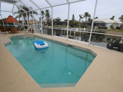 Photo for Updated Waterfront  Home w/ Heated Pool