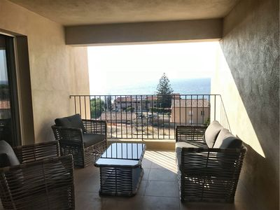 Photo for Sea View Apartment Saint-Florent