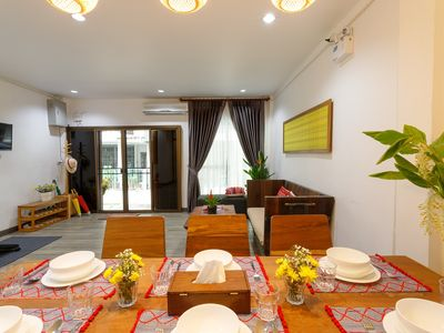 Photo for 2-Bedroom Townhouse, Best Location in Chiang Mai Old Town, Free Mini Bar