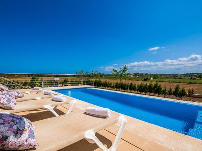 Photo for ☼Lovely newly built finca with pool in a beautiful rural location