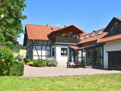 Photo for Sophisticated holiday home in Thuringia with sunroom, garden and terrace