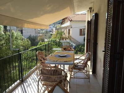Photo for In Galatas with Internet, Air conditioning, Parking, Washing machine (485289)
