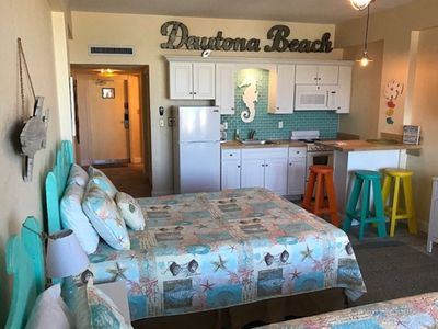 Photo for Ground Floor Daytona Beach Front Condo