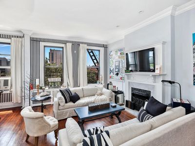 Photo for Paris in Harlem Townhouse Apartment