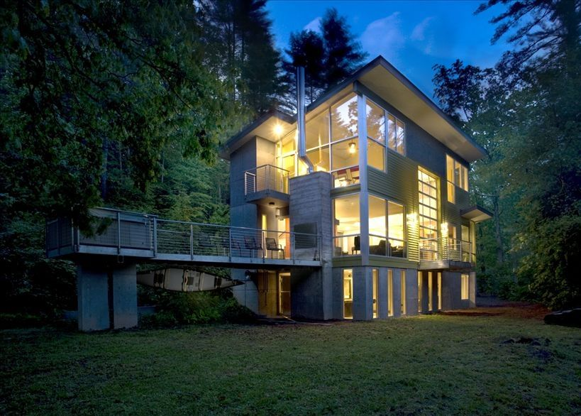 Modern Architecture On The Toccoa River Vrbo