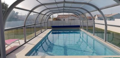 Photo for FAMILY HOME 4 **** WITH SWIMMING POOL