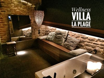 Wellness facility available in the villa with extra fee