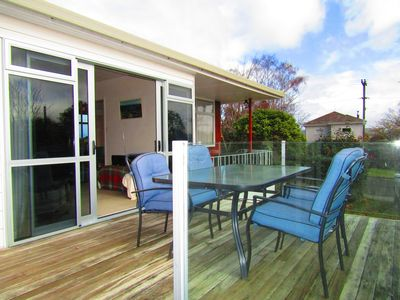 Photo for Great location in Wharewaka, short walk to the Lake.