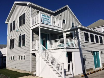 Photo for New Construction! Seven Bedrooms. Five Baths. Sleeps 20.  Steps To Wells Beach!!