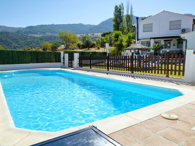 Photo for Nice country house located in the hamlet Siete Pilas, Benalauría, with magnificas