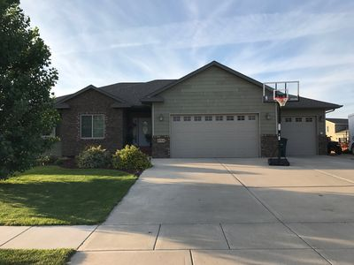 Photo for Nice, clean, large 5-Bedroom home between Sturgis and Rapid City
