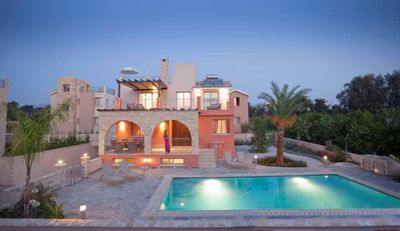 Photo for Private Sandy Beach - Exclusive Luxury Villa - Private Pool -Jacuzzi -Games Room