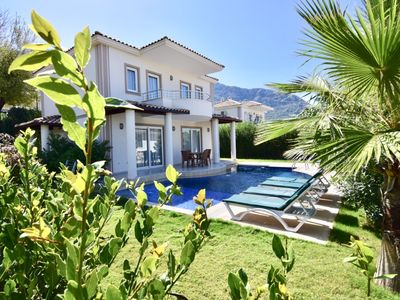 Photo for in Ovacik 3 bedroom Villa with private garden and swimming pool