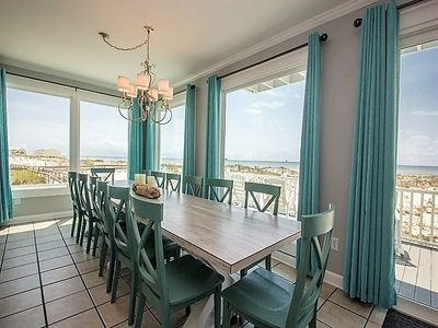 Photo for LOW MARCH RATES! Elevator!  5 BR, 5.5 BA Beachfront stunner that sleeps 18.