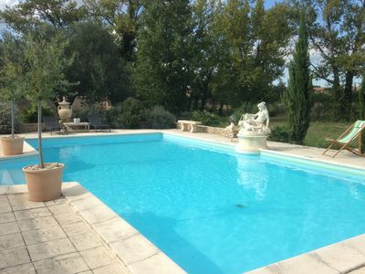 Photo for Family holiday Villa,  Heated pool, Air-Con, sleeps 8,  4 ensuite bedrooms