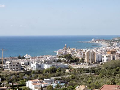 Photo for MARISOL, with unbeatable views over Sitges and the sea.